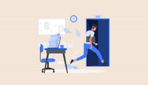 【簡単】仕事の無難な辞め方を3つ紹介【注意点:辞めた後のプランは決めておく】