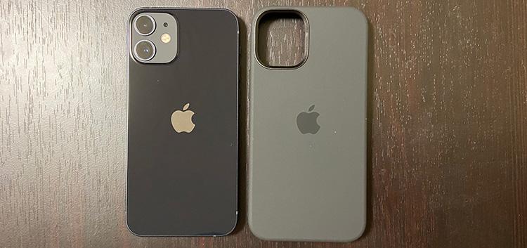 iPhone12miniとの色の比較