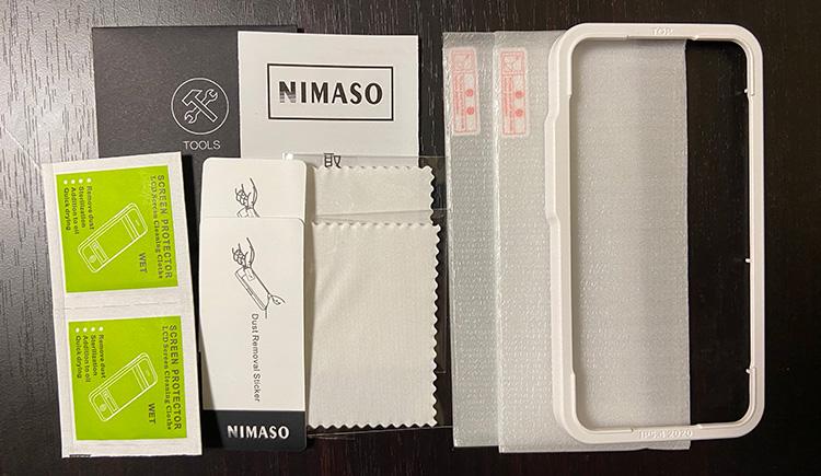 NIMASOの内容物はこんな感じ
